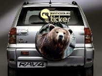 На запаску медведь