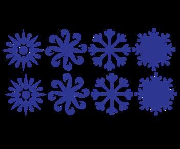 Снежинки 5