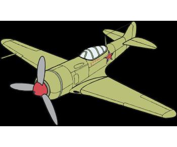 Военный самолет 6-ЛА СССР