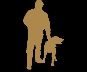 Охотник и собака 3