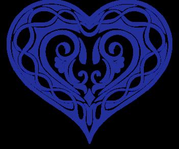 Узорчатое сердце