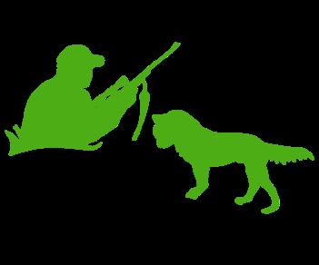 Охотник и собака 2