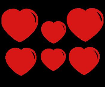Выписка-набор сердца