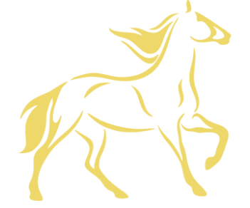 Лошадь силуэт 3