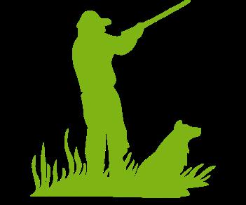 Охотник и пес