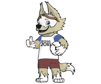 Символ футбол волк
