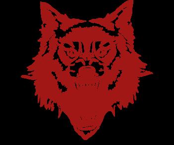Волк оскал