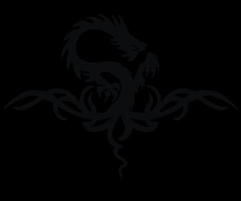 Дракон-узор