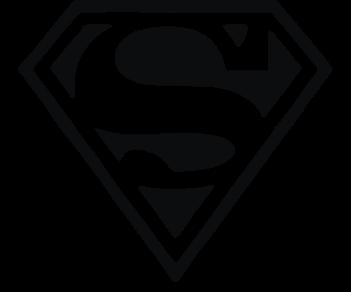 Обои логотип символ superman супермен супергерой