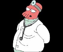 Futurama Доктор Зойберг