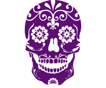 Узорчатый череп