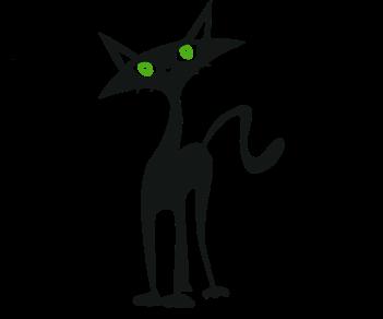 Кошка зеленые глаза