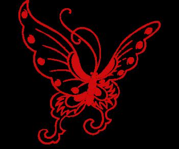 Бабочка 90
