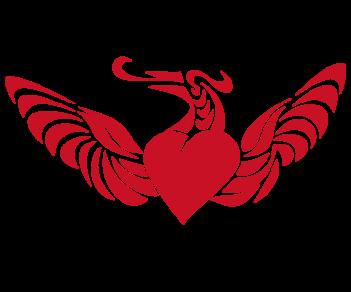 Сердце с крыльями 5