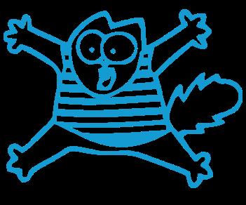 Кот Саймона морячок