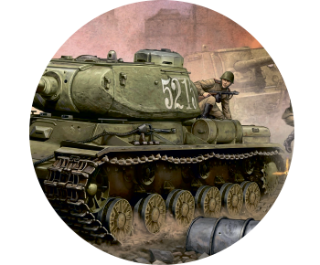 На запасное колесо танк 3