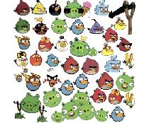 Стикербомбинг Angry birds