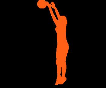 Волейболистка блокирующая
