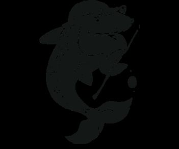 Рыба с удочкой