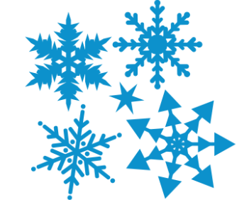 Снежинки 6