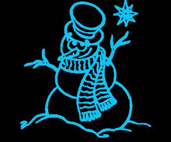 Снеговик 17