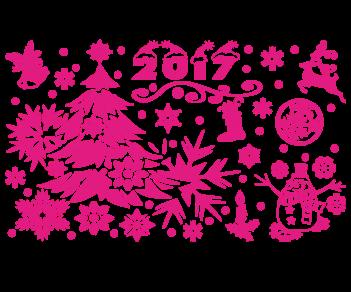 Витрина Новый год 2