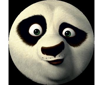 На запаску кунг фу панда