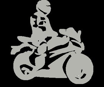 Мотоциклист спорт