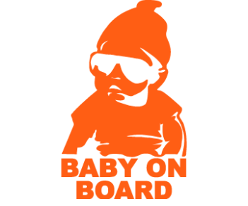 Baby on board 46