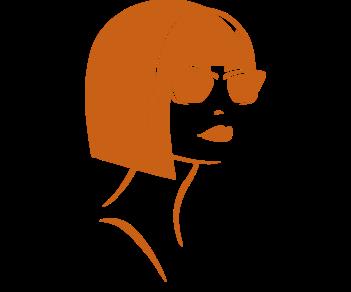 Девушка в очках 2