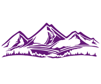 Горы лес 4