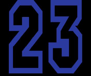 Цифра 23 гоночные