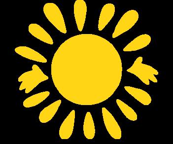 Солнце-ладошки