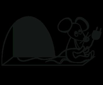 Мышонок и розетка