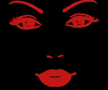 Девушка глаза