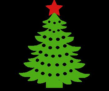 Новогодняя елочка звездочка