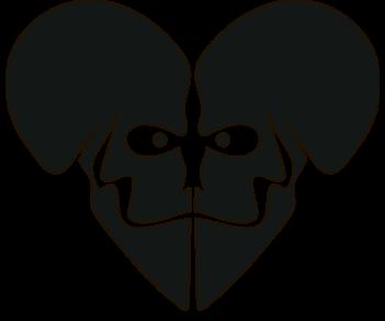 Сердце-череп
