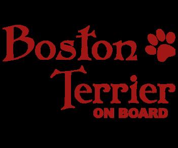Бостон-терьер на борту