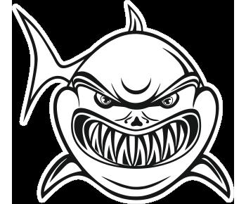 Акула зубастая