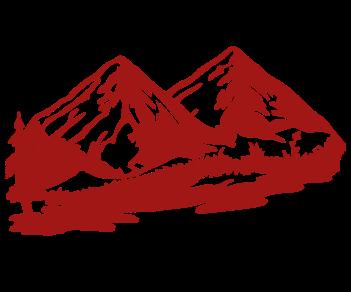 Горы лес 5