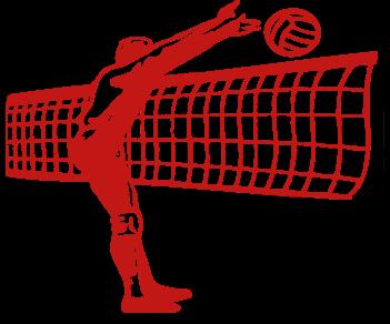 Волейболист блокирующий