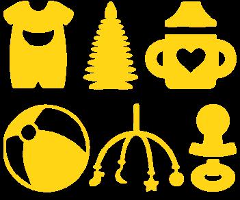 Выписка из роддома-набор игрушки
