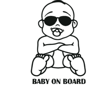 Baby on board 49