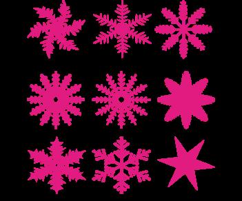 Снежинки Новый год
