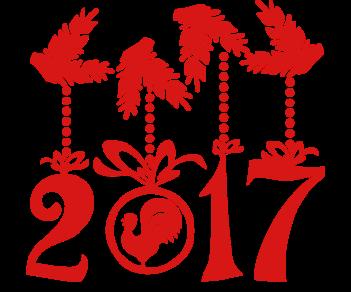 С Новым годом витрина