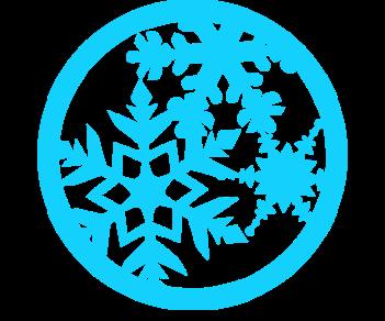Игрушка снежинка