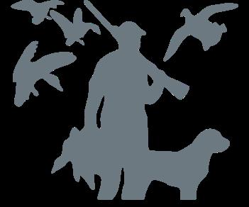 Охотник и собака 6