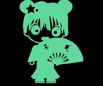 Девочка аниме