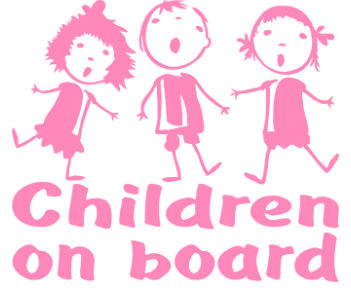 Children on board