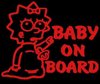 Ребенок в машине Мэгги